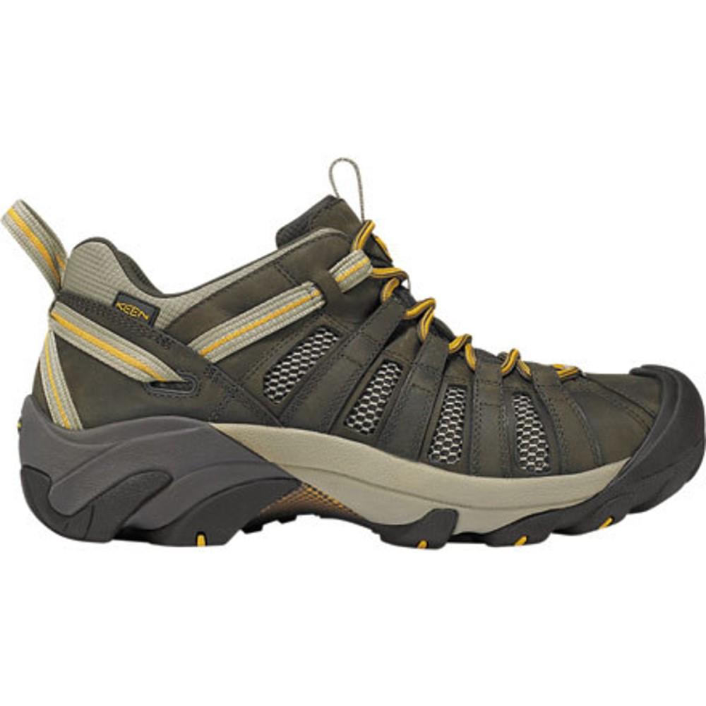 キーン KEEN メンズ ハイキング シューズ・靴【Voyageur Hiking Shoes】Black Olive/Inca Gold