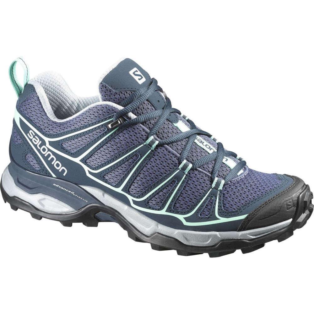 新作モデル サロモン Ultra Salomon レディース ハイキング シューズ・靴 Hiking【X Ultra サロモン Prime Hiking Shoe】Artist Grey-x/Deep Blue/Lucite Green, 雑貨屋くろねこ:bfecc7b6 --- canoncity.azurewebsites.net
