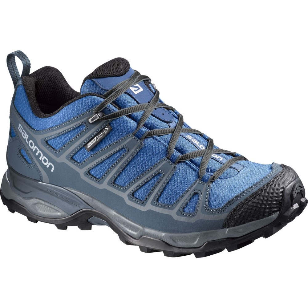 サロモン Salomon メンズ ハイキング シューズ・靴【X Ultra Prime CS WP Hiking Shoes】Deep Water/Slate Blue/Dark Cloud