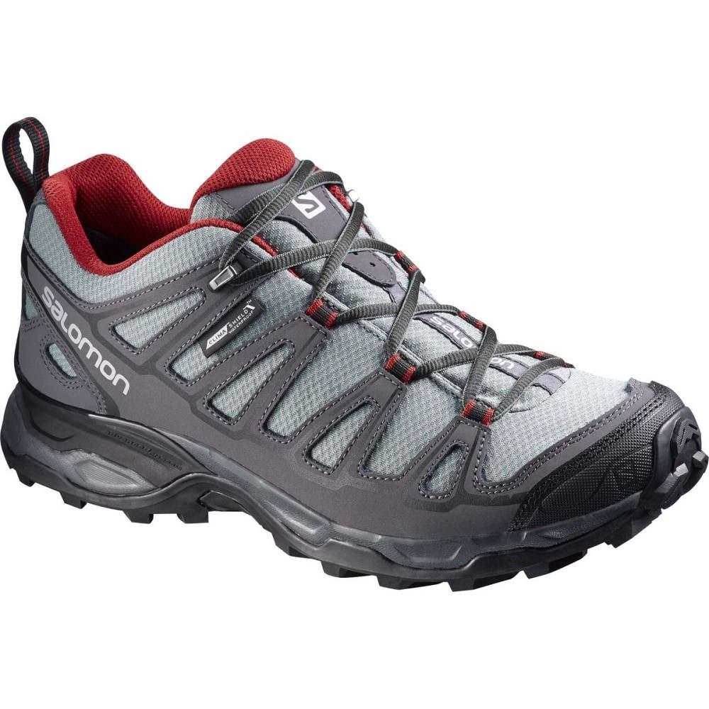 サロモン Salomon メンズ ハイキング シューズ・靴【X Ultra Prime CS WP Hiking Shoes】Pearl Grey/Dark Cloud/Flea