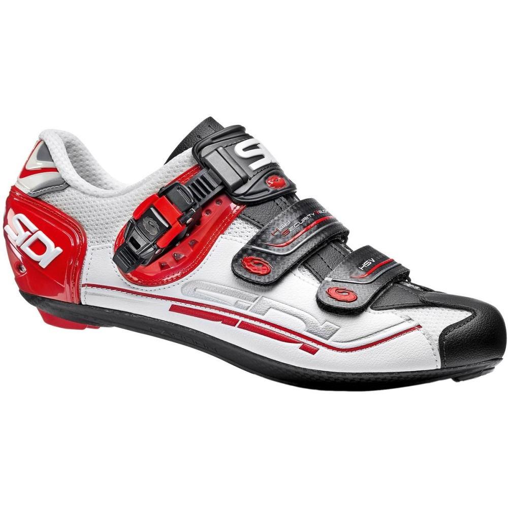シディー Sidi メンズ サイクリング シューズ・靴【Genius Fit Carbon Shoes】White/Red