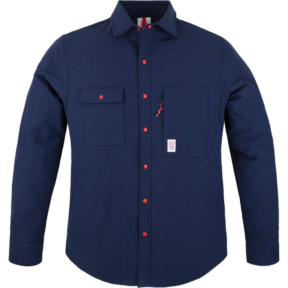 トポ デザイン Topo Designs メンズ トップス カジュアルシャツ【Breaker Shirt Jackets】Navy