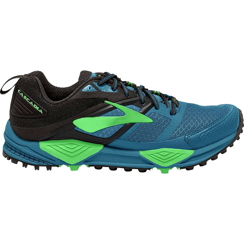 ブルックス メンズ ランニング・ウォーキング シューズ・靴【Cascadia 12 Trail Running Shoes】Black/Turkish Tile/Andean Toucan