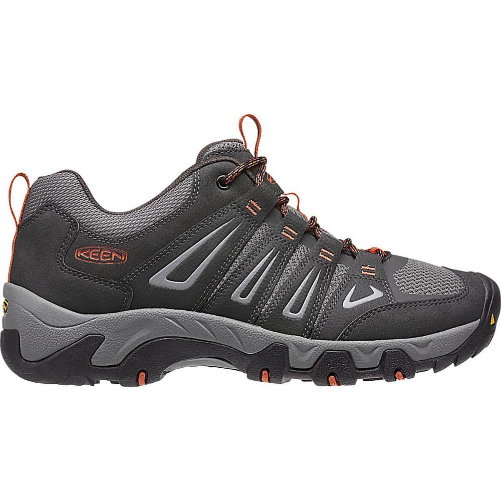 【通販 人気】 キーン メンズ ハイキング・登山 シューズ・靴 Ochre【Oakridge Hiking Hiking キーン Shoes】Raven/Burnt Ochre, 八東町:ace15dd6 --- konecti.dominiotemporario.com