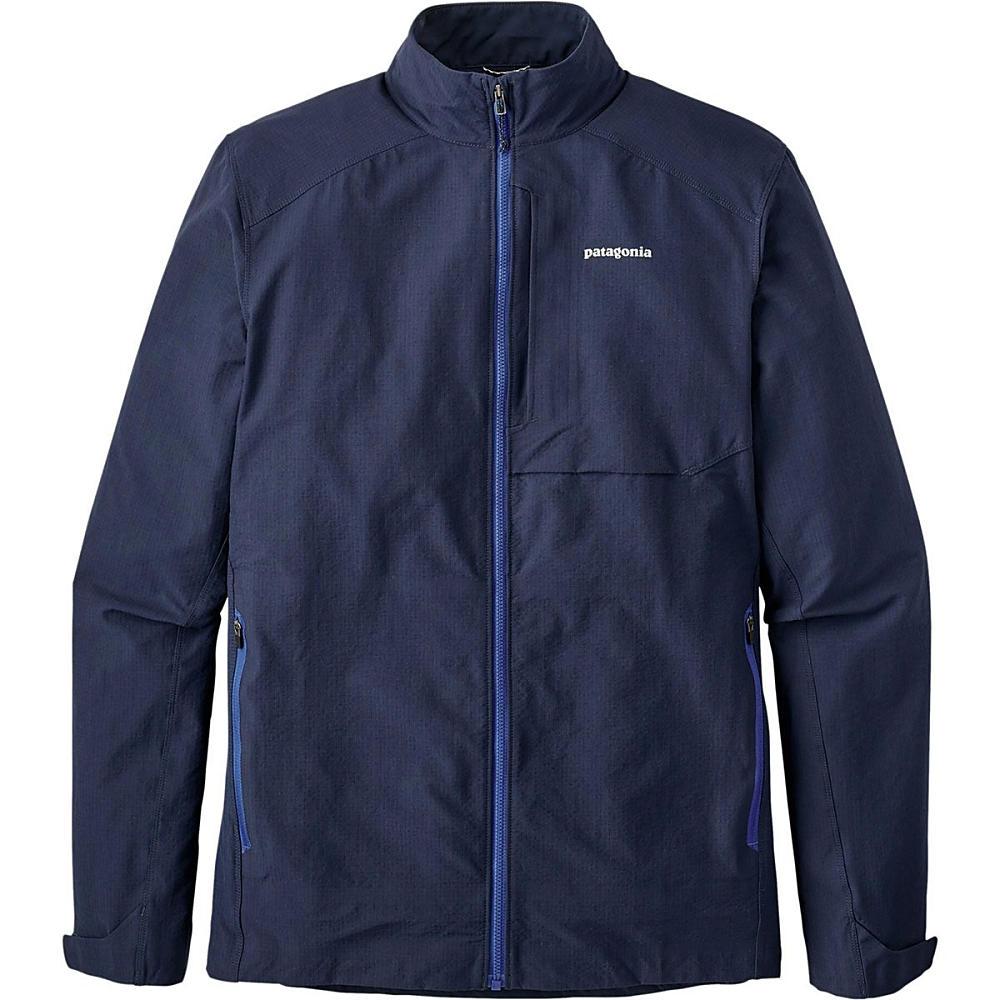 パタゴニア メンズ 自転車 アウター【Dirt Craft Jackets】Navy Blue