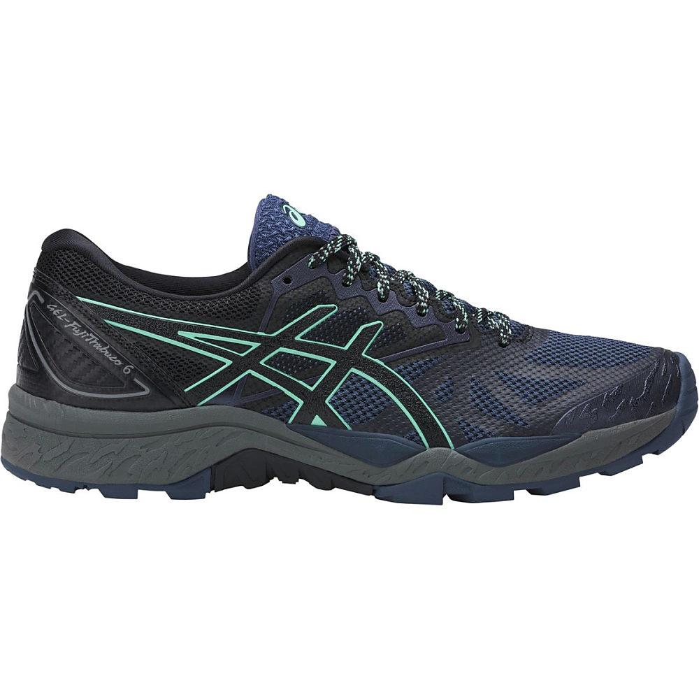アシックス レディース ランニング・ウォーキング シューズ・靴【Gel - Fujitrabuco 6 Trail Running Shoe】Insignia Blue/Black/Ice Green