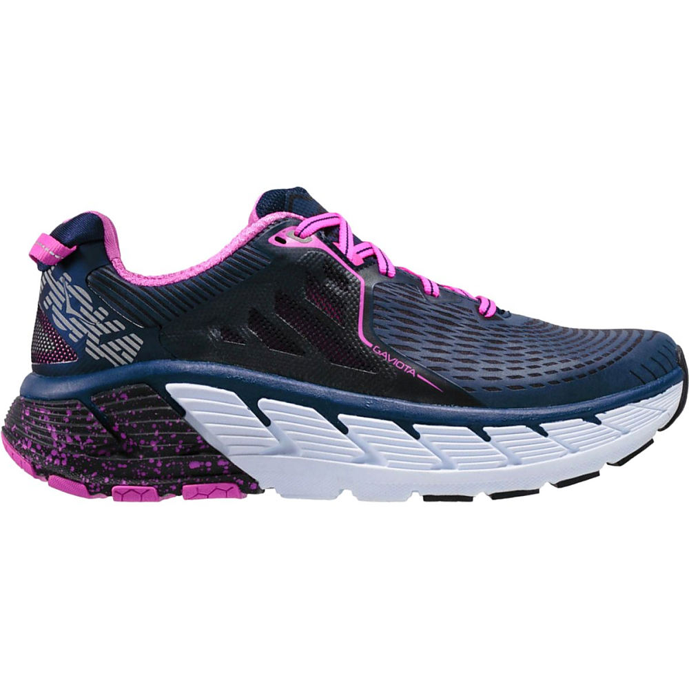 ホカ オネオネ レディース ランニング・ウォーキング シューズ・靴【Gaviota Running Shoe】Medieval Blue/Fuchsia