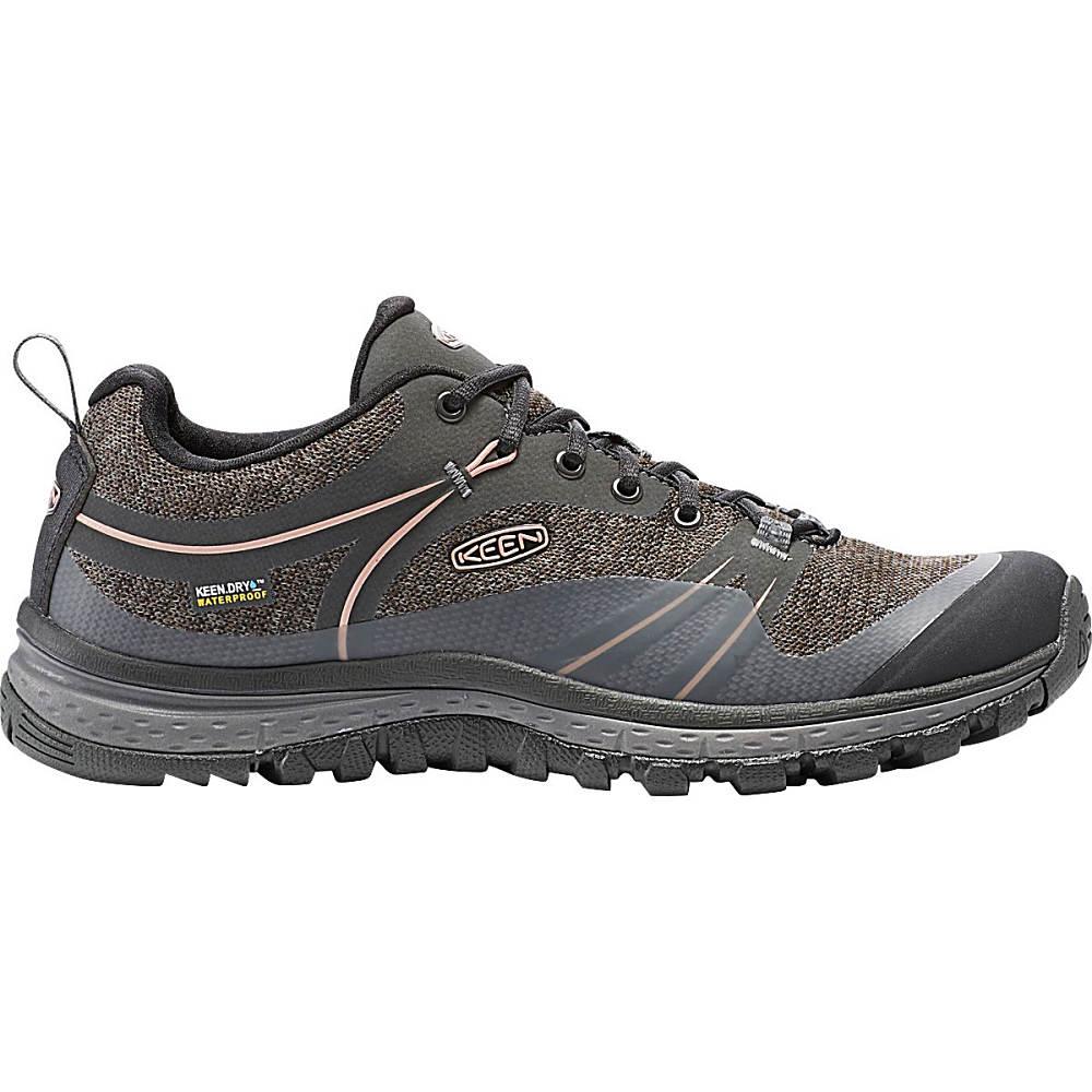 キーン レディース ハイキング・登山 シューズ・靴【Terradora Waterproof Hiking Shoe】Raven/Rose Dawn