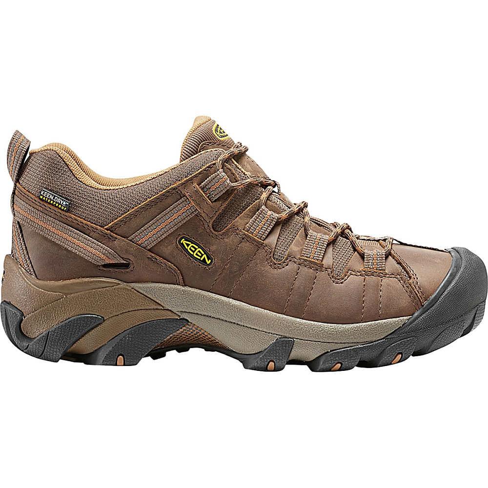 キーン メンズ ハイキング・登山 シューズ・靴【Targhee ll Waterproof Hiking Shoes】Cascade Brown/Brown Sugar