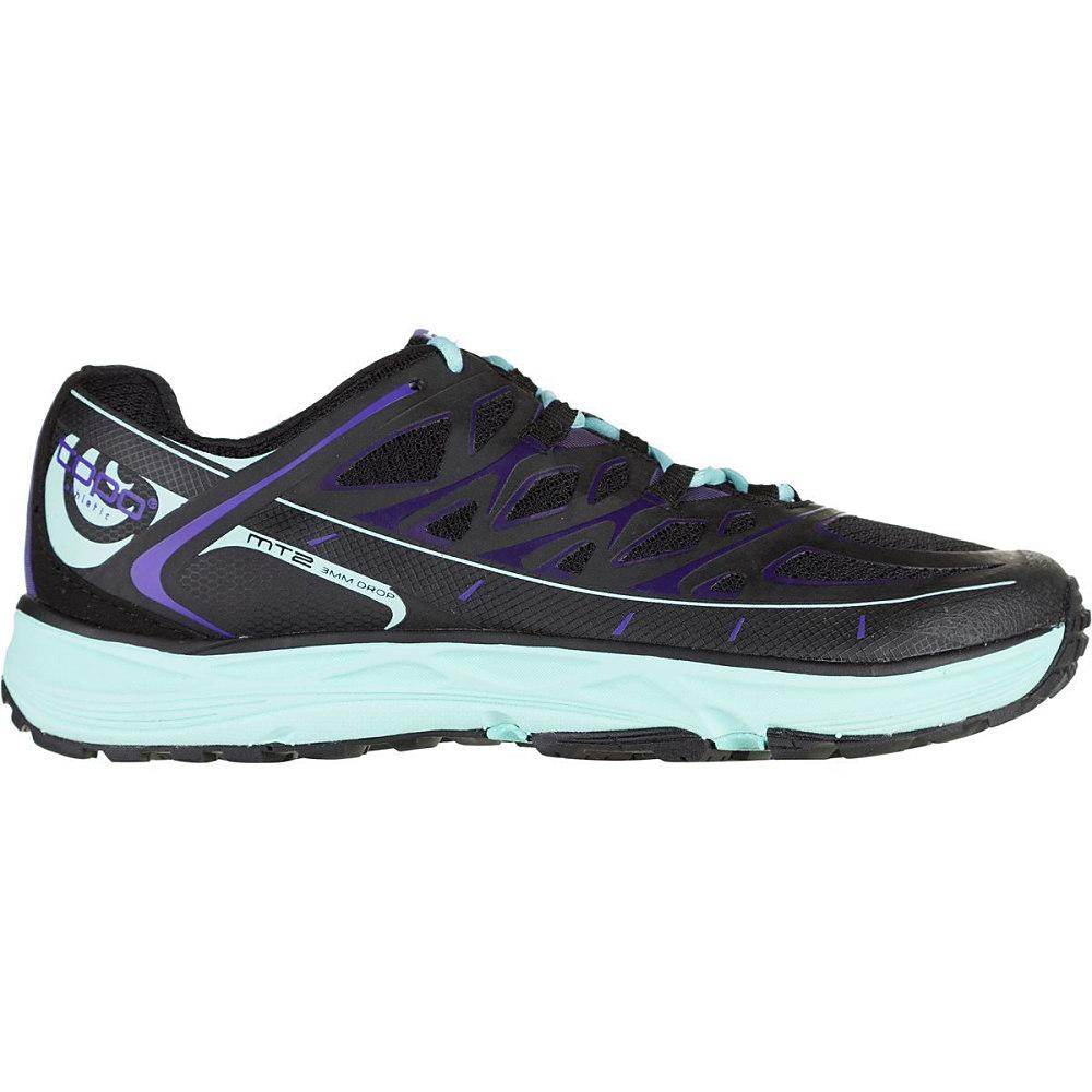 トポ アスレチック レディース ランニング・ウォーキング シューズ・靴【MT - 2 Trail Running Shoe】Black/Ice