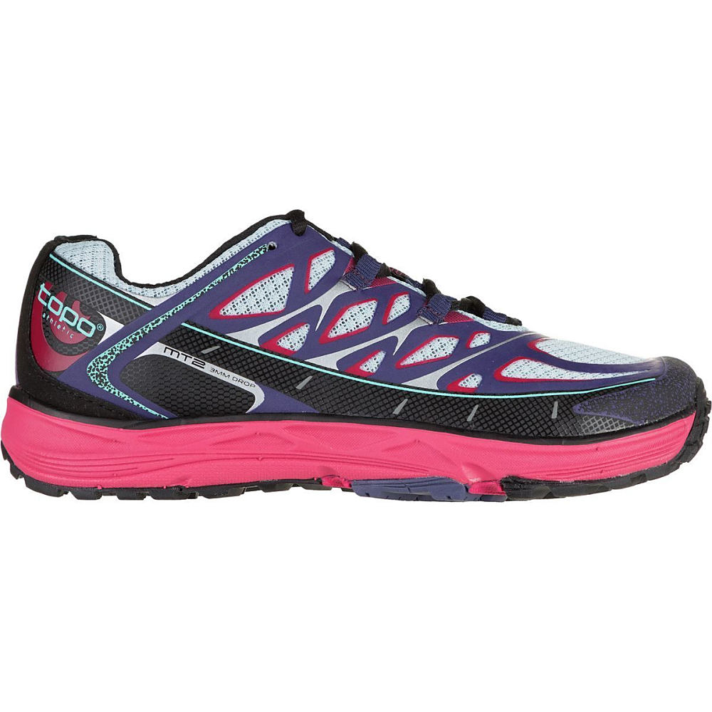 トポ アスレチック レディース ランニング・ウォーキング シューズ・靴【MT - 2 Trail Running Shoe】Indigo/Fuchsia