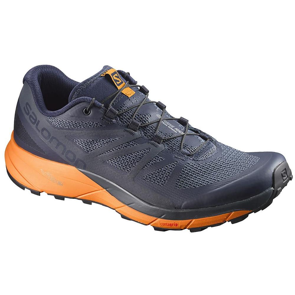 サロモン メンズ ランニング・ウォーキング シューズ・靴【Sense Ride Trail Running Shoes】Navy Blazer/Bright Marigold/Ombre Blue