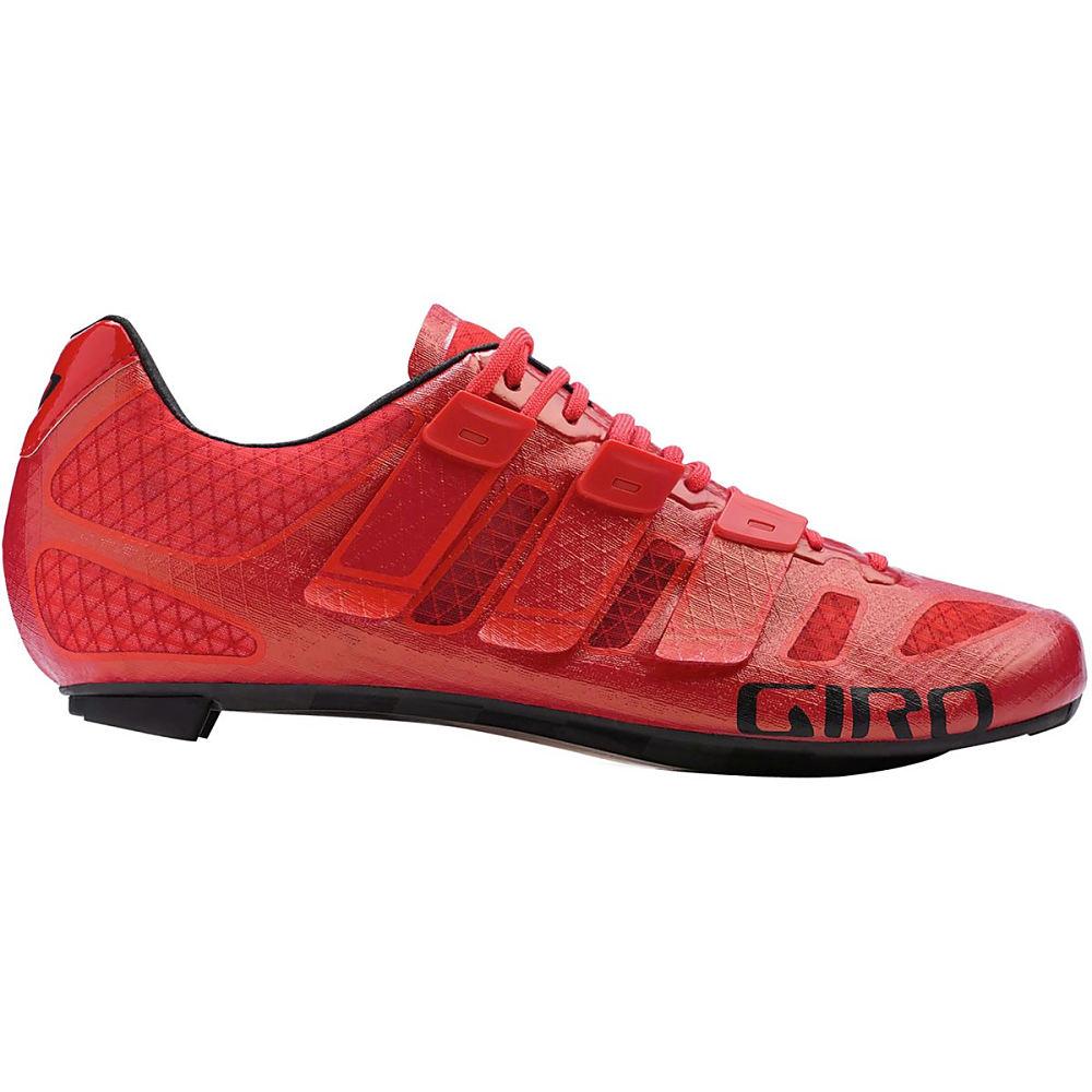 ジロ メンズ 自転車 シューズ・靴【Prolight Techlace Shoess】Bright Red