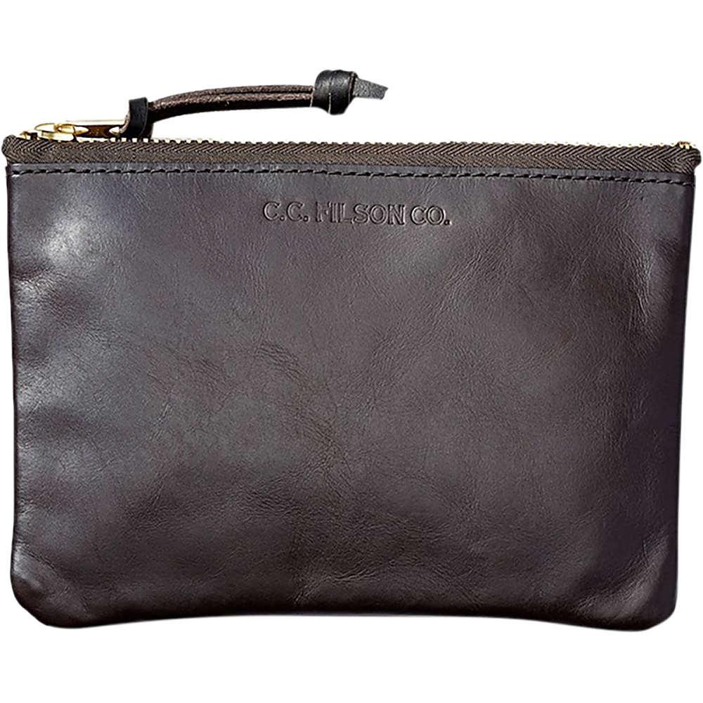 フィルソン メンズ ポーチ【Leather Pouch - Medium】Brown