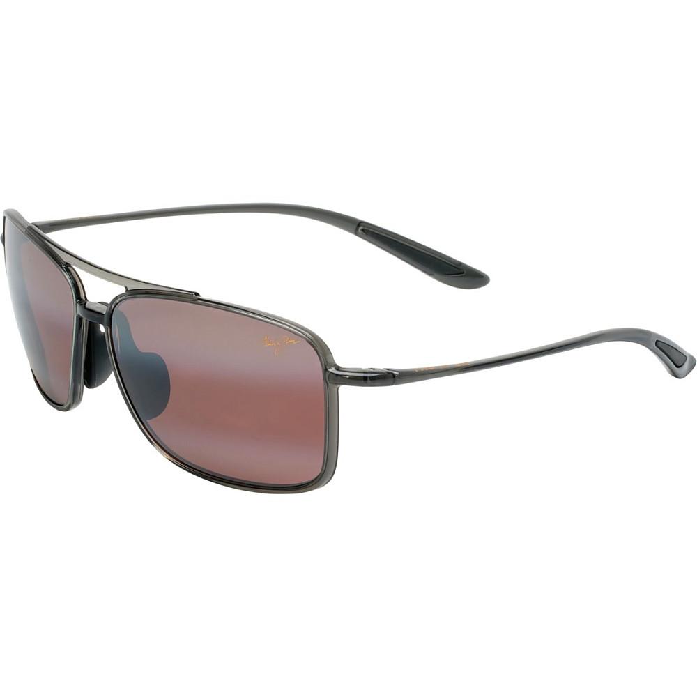 マウイジム レディース メガネ・サングラス【Kaupo Gap Sunglasses - Polarized】Gloss Black/Neutral Grey