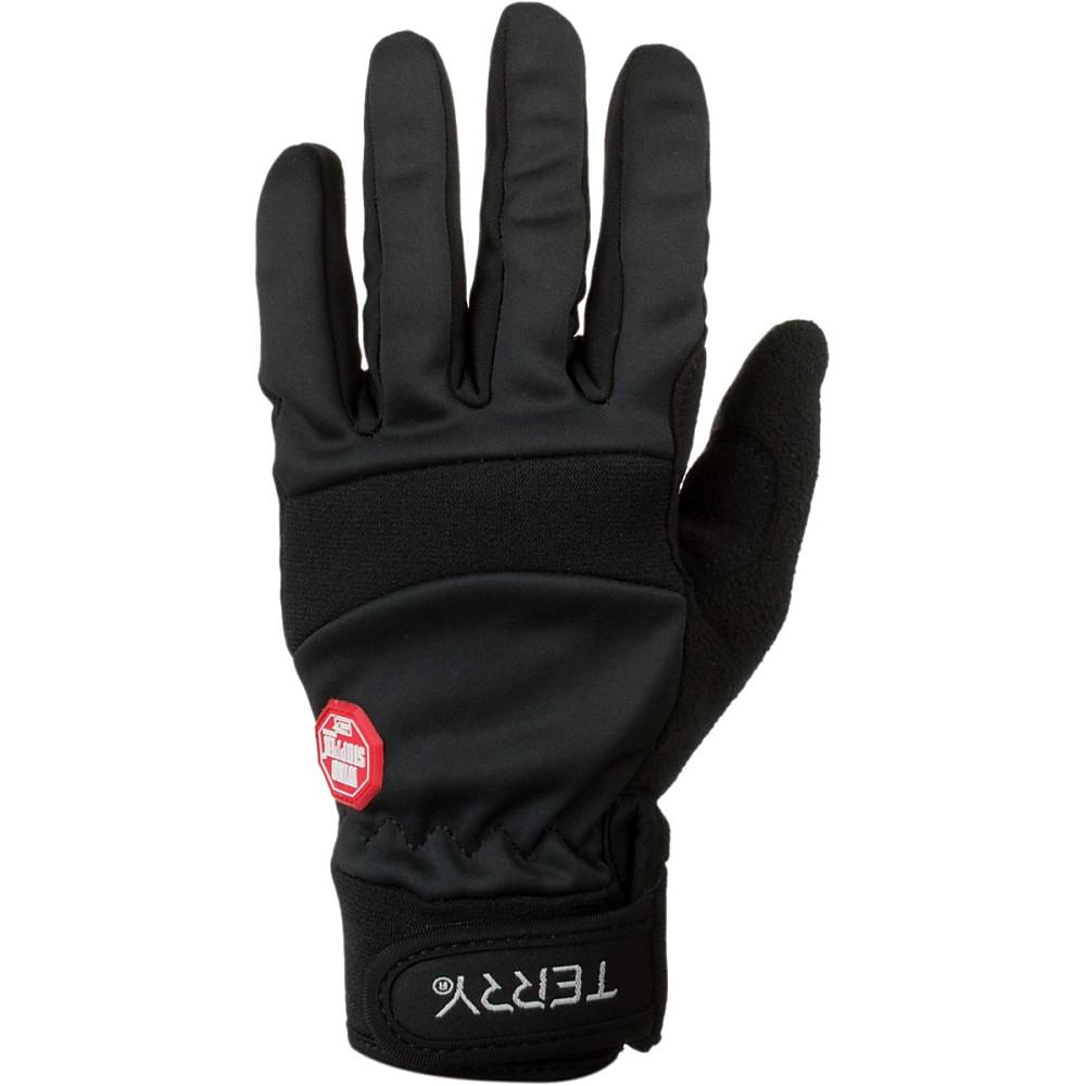 テリーバイシクル レディース 自転車 グローブ【Full - Finger Windstopper Gloves】Black
