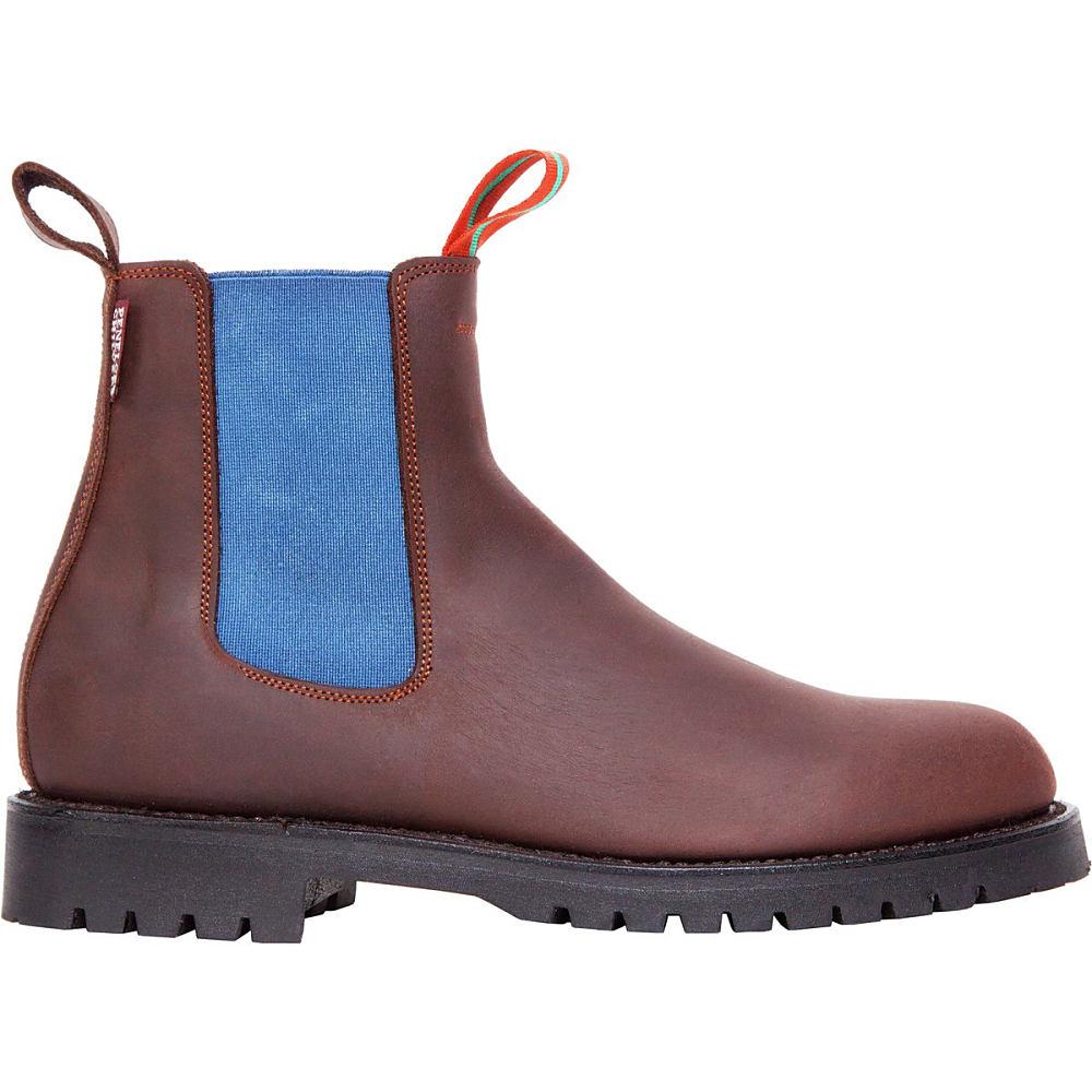 ペネロペ シルヴァーズ レディース シューズ・靴 ブーツ【Nelson Leather Boot】Brown/Blue