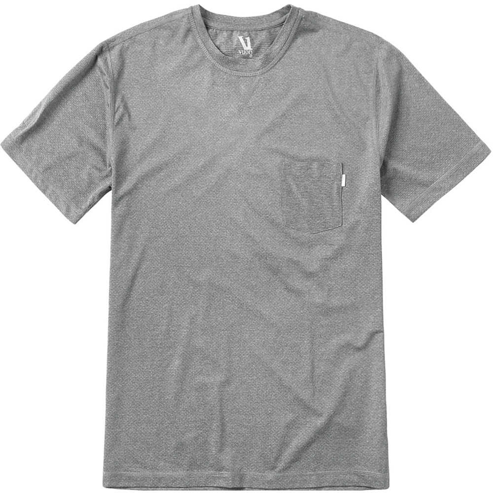 ヴォリ メンズ トップス 半袖シャツ【Tradewind Performance T - Shirts】Heather Grey