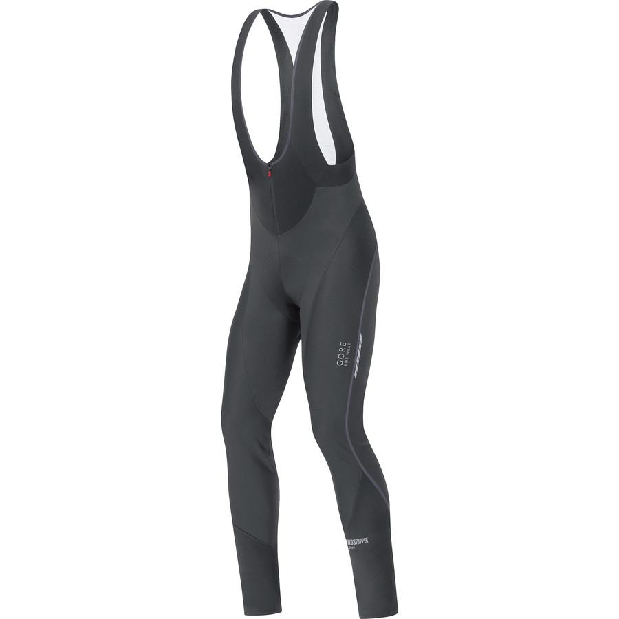 ゴアバイクウェア Gore Bike Wear メンズ サイクリング ウェア【Oxygen WindStopper Soft Shell Bib Tight】Black
