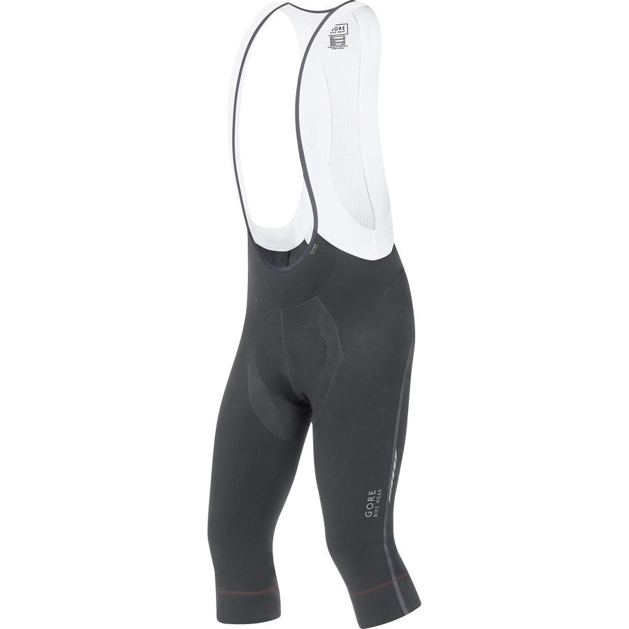 ゴアバイクウェア Gore Bike Wear メンズ サイクリング ウェア【Oxygen Partial Thermo 3/4 Bib Tights】Black