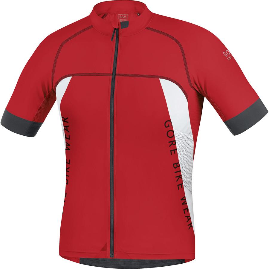 ゴアバイクウェア Gore Bike Wear メンズ サイクリング ウェア【Alp-X Pro Jersey】Red/White