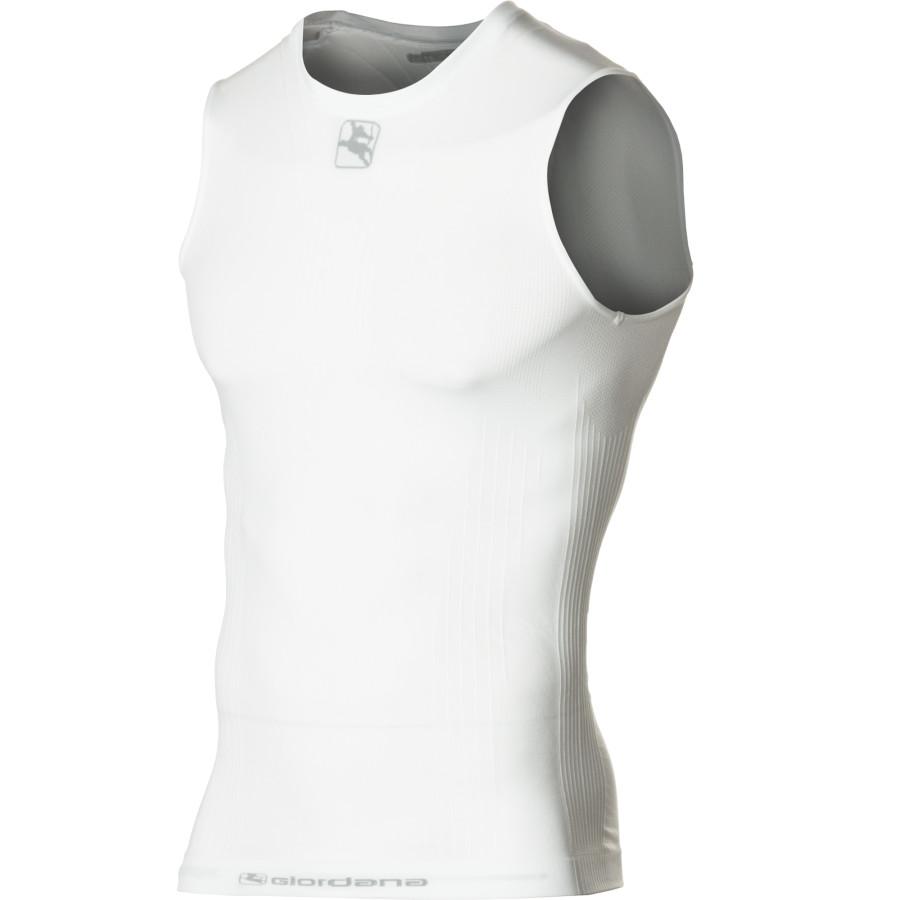 ジョルダーノ Giordana メンズ サイクリング ウェア【Mid-Weight Polypropylene Base Layer】White