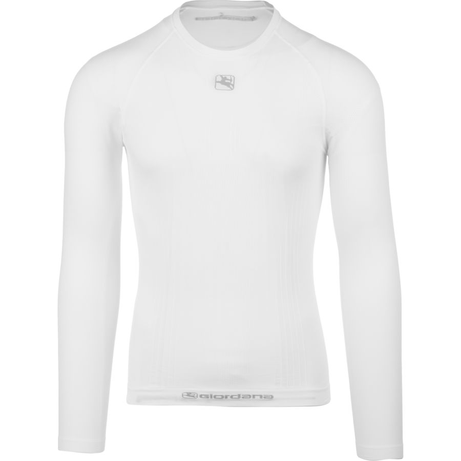 ジョルダーノ Giordana メンズ サイクリング ウェア【Mid-Weight Tubular Base Layer】White