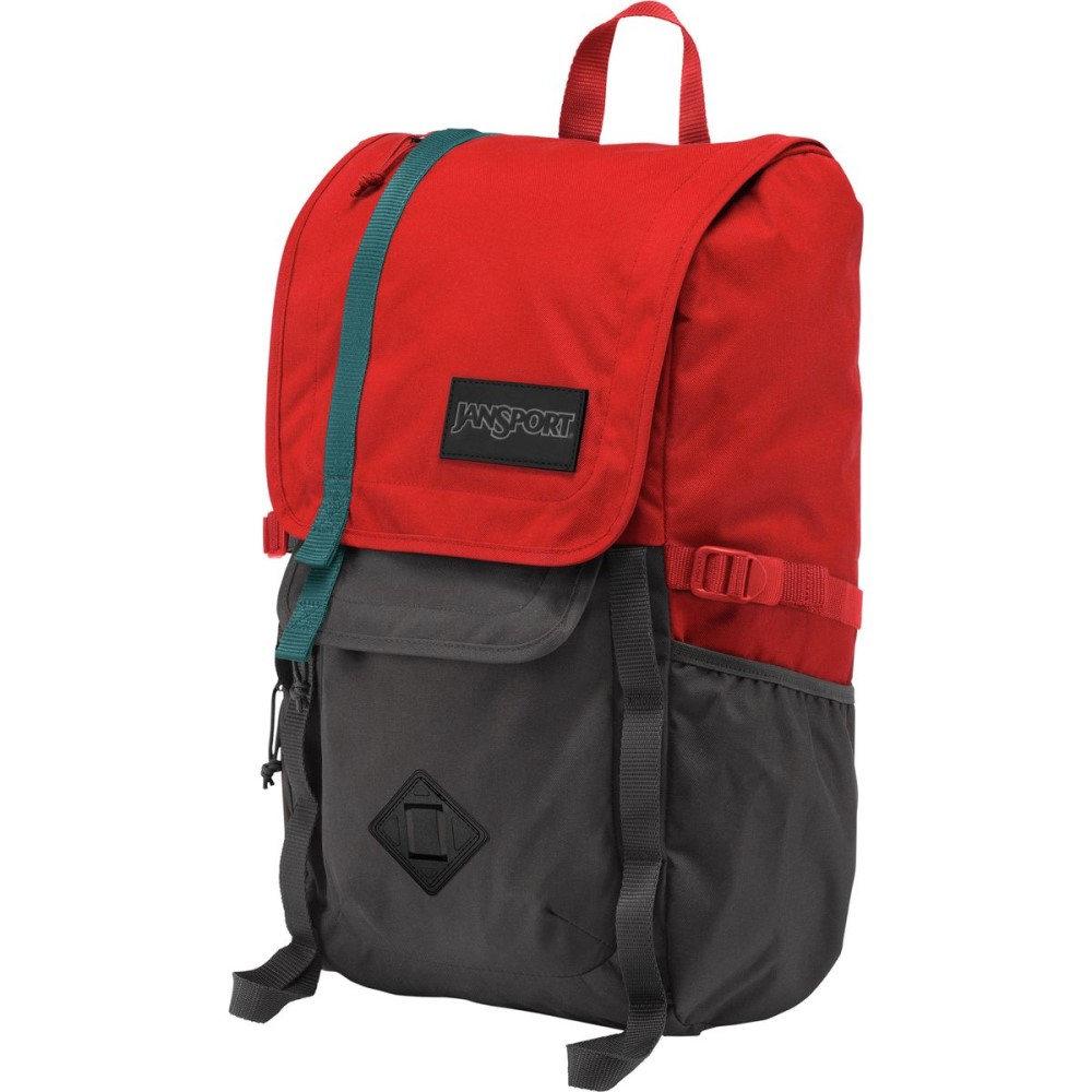 ジャンスポーツ レディース バッグ バックパック・リュック【Hatchet 28L Backpack】Forge Grey/Red Tape