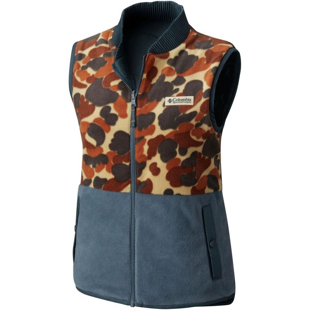 コロンビア レディース トップス ベスト・ジレ【PNW Reversatility Vest】Mystery/Buffalo Camo