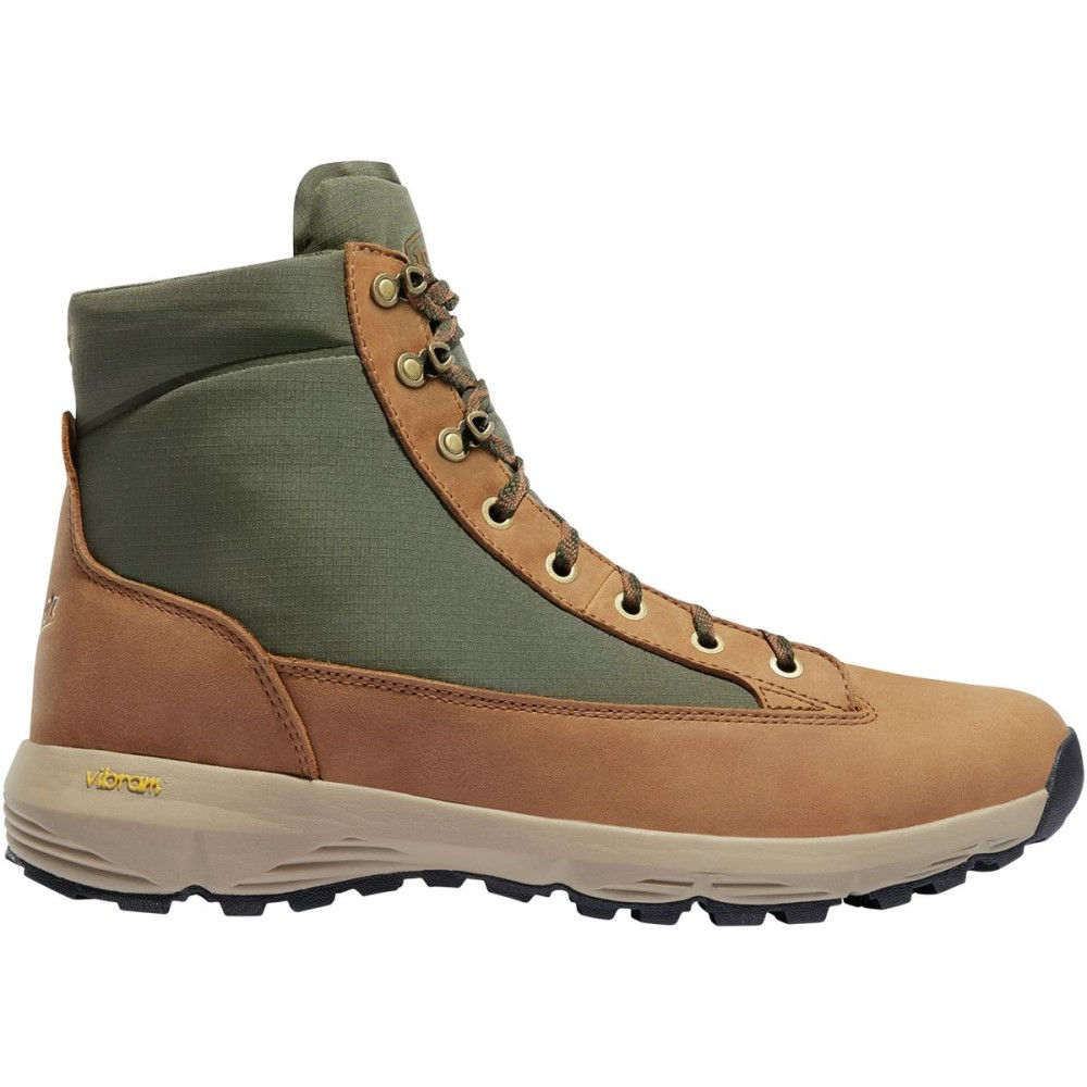 ダナー メンズ ハイキング・登山 シューズ・靴【Explorer 650 Hiking Boots】Brown/Green Full Grain Leather