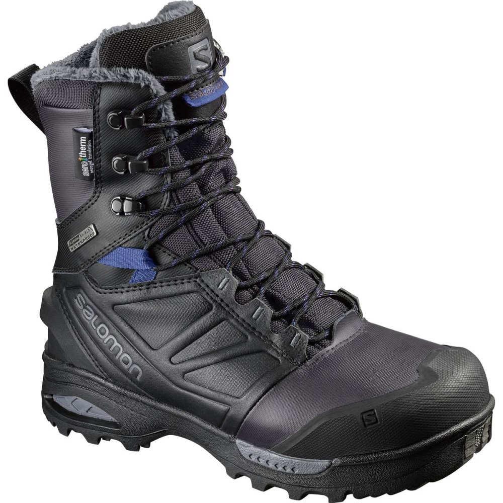 サロモン レディース スキー・スノーボード シューズ・靴【Toundra Pro CSWP Boot】Phantom/Black/Amparo Blue