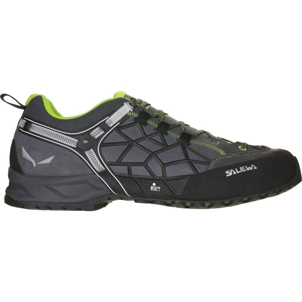 2019公式店舗 サレワ メンズ メンズ Approach ハイキング・登山 Pro シューズ・靴【Wildfire Pro Approach Shoe】Carbon/Green, ウスイマチ:f72c0262 --- hortafacil.dominiotemporario.com