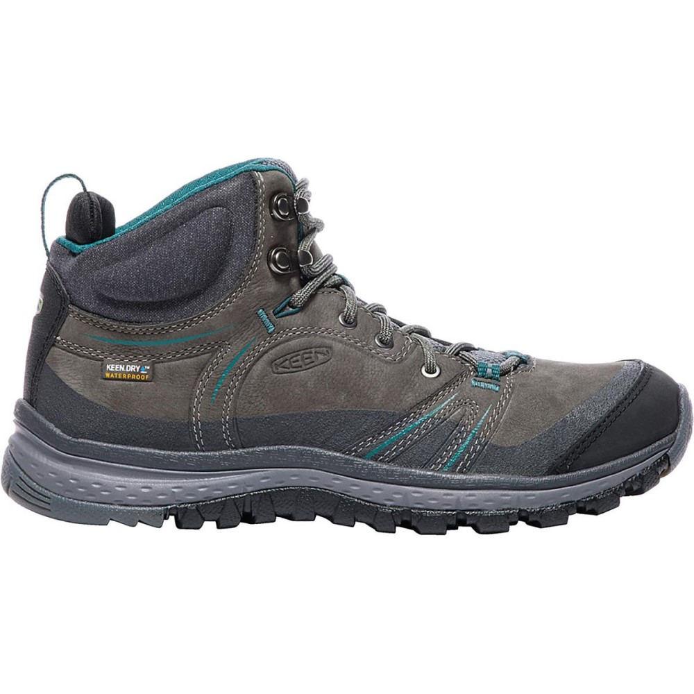 キーン レディース ハイキング・登山 シューズ・靴【Terradora Leather Mid Waterproof Boot】Mushroom/Magnet