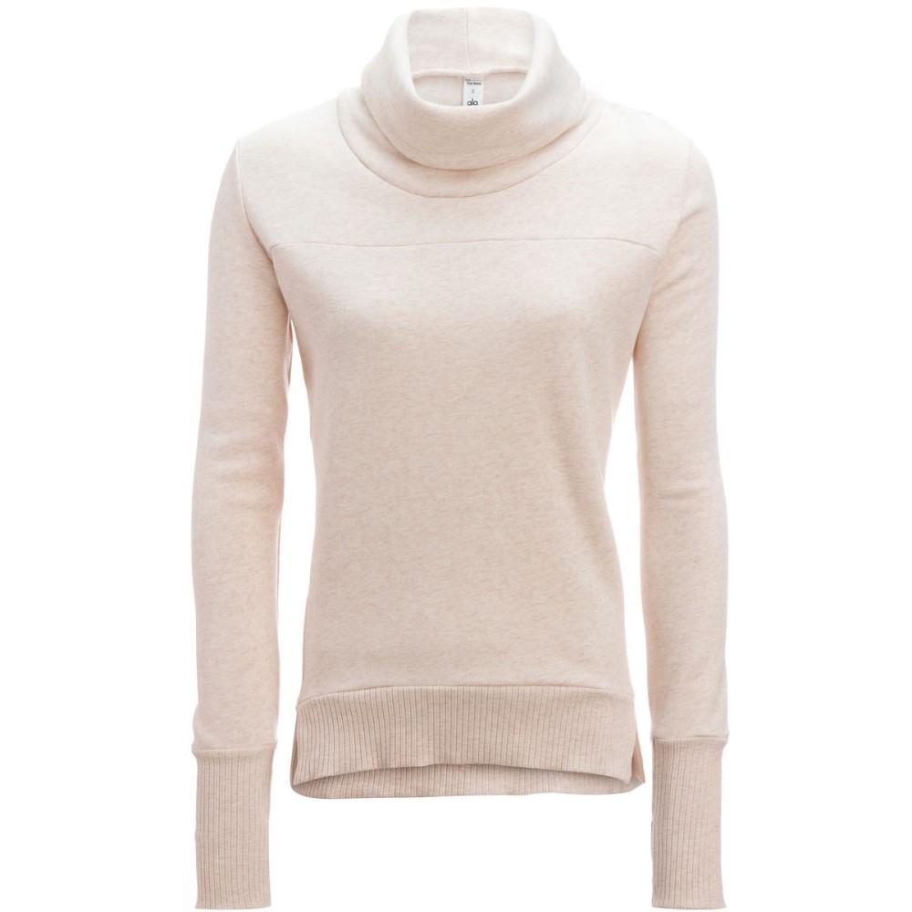 アローヨガ レディース トップス スウェット・トレーナー【Haze Pullover Sweatshirt】Pristine Heather