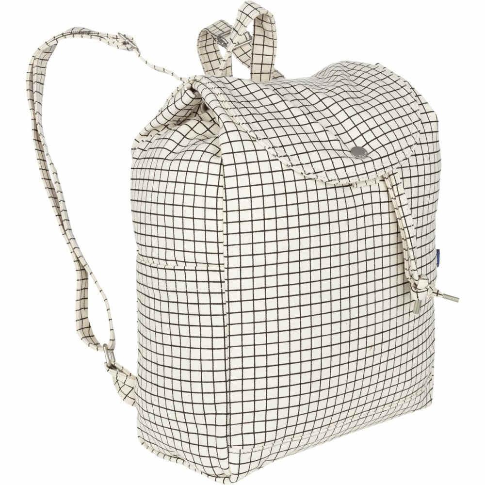 バッグー レディース バッグ バックパック・リュック【Drawstring Backpack】Natural Grid