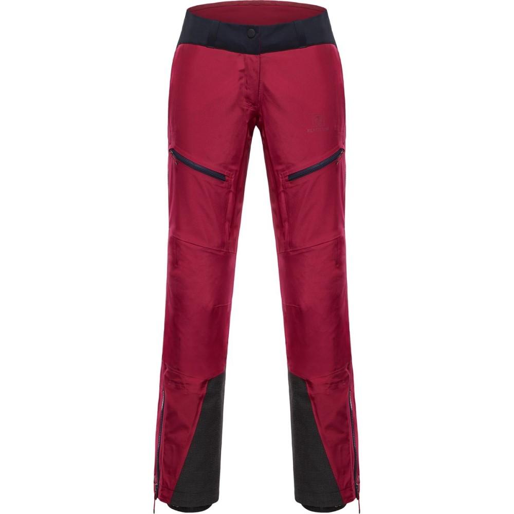 ブラックヤク レディース スキー・スノーボード ボトムス・パンツ【PALI Gore - Tex Pro Shell 3L Pant】Beet Red