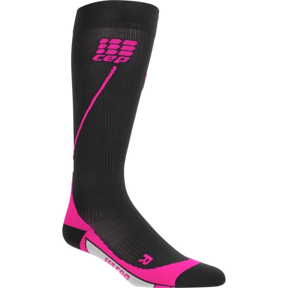 シー イー ピー レディース 自転車【Progressive Run 2.0 Compression Socks】Black/Pink