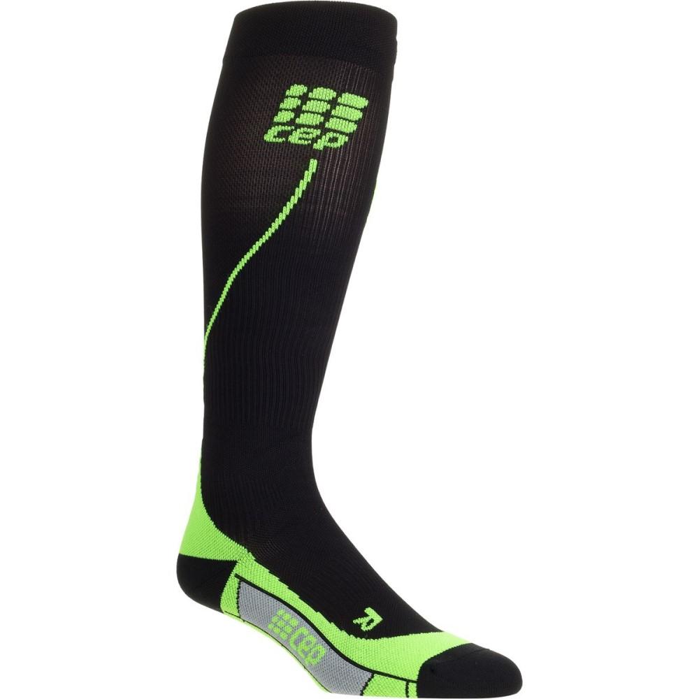 シー イー ピー レディース インナー・下着 ソックス【Progressive Run 2.0 Compression Sock】Black/Green