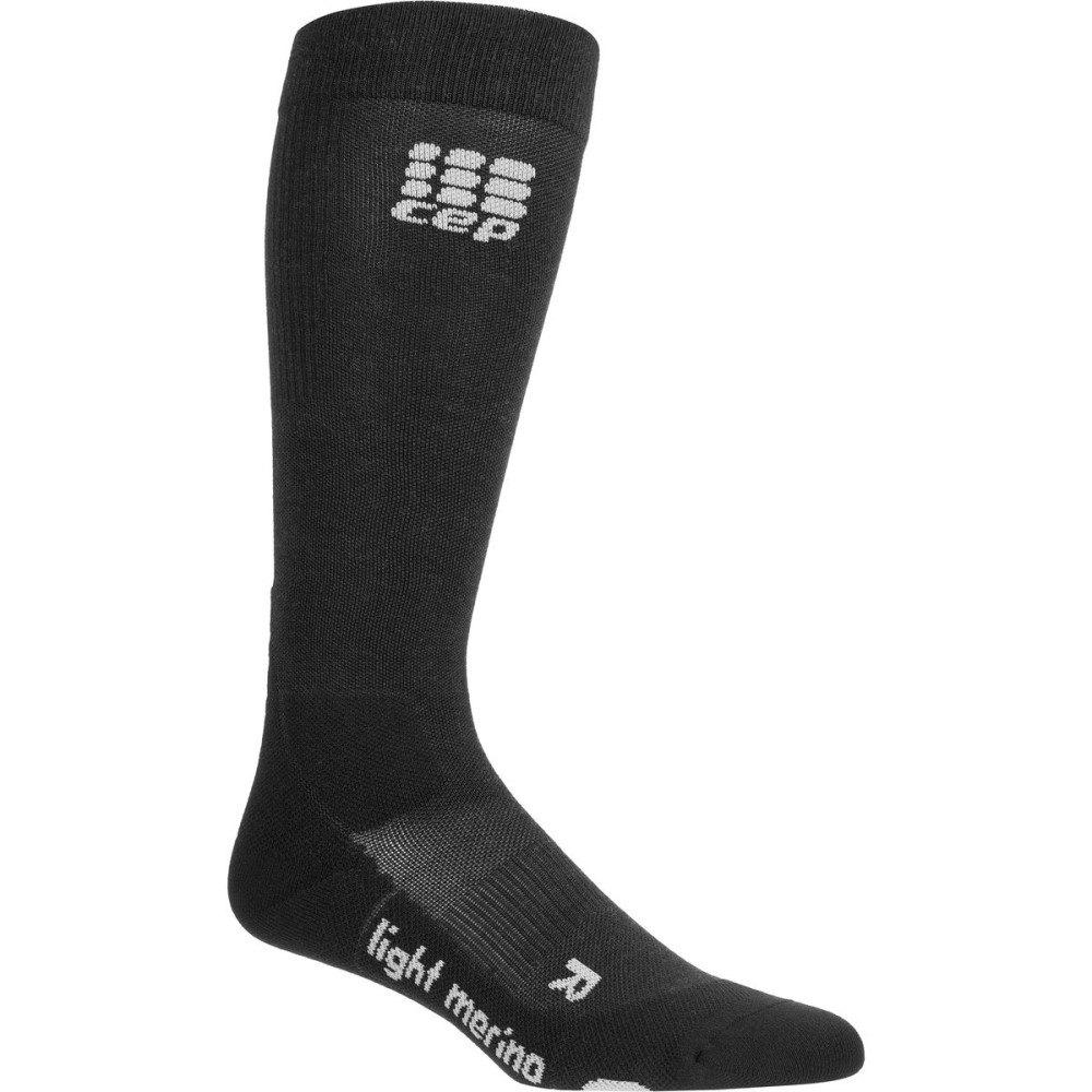 シー イー ピー レディース 自転車【Progressive+ Outdoor Light Merino Sock】Lava Stone