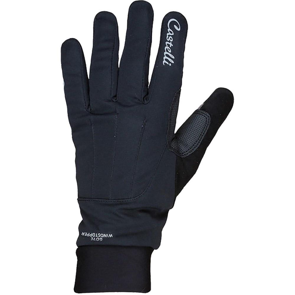 カステリ レディース 自転車 グローブ【Tempo Glove】Black