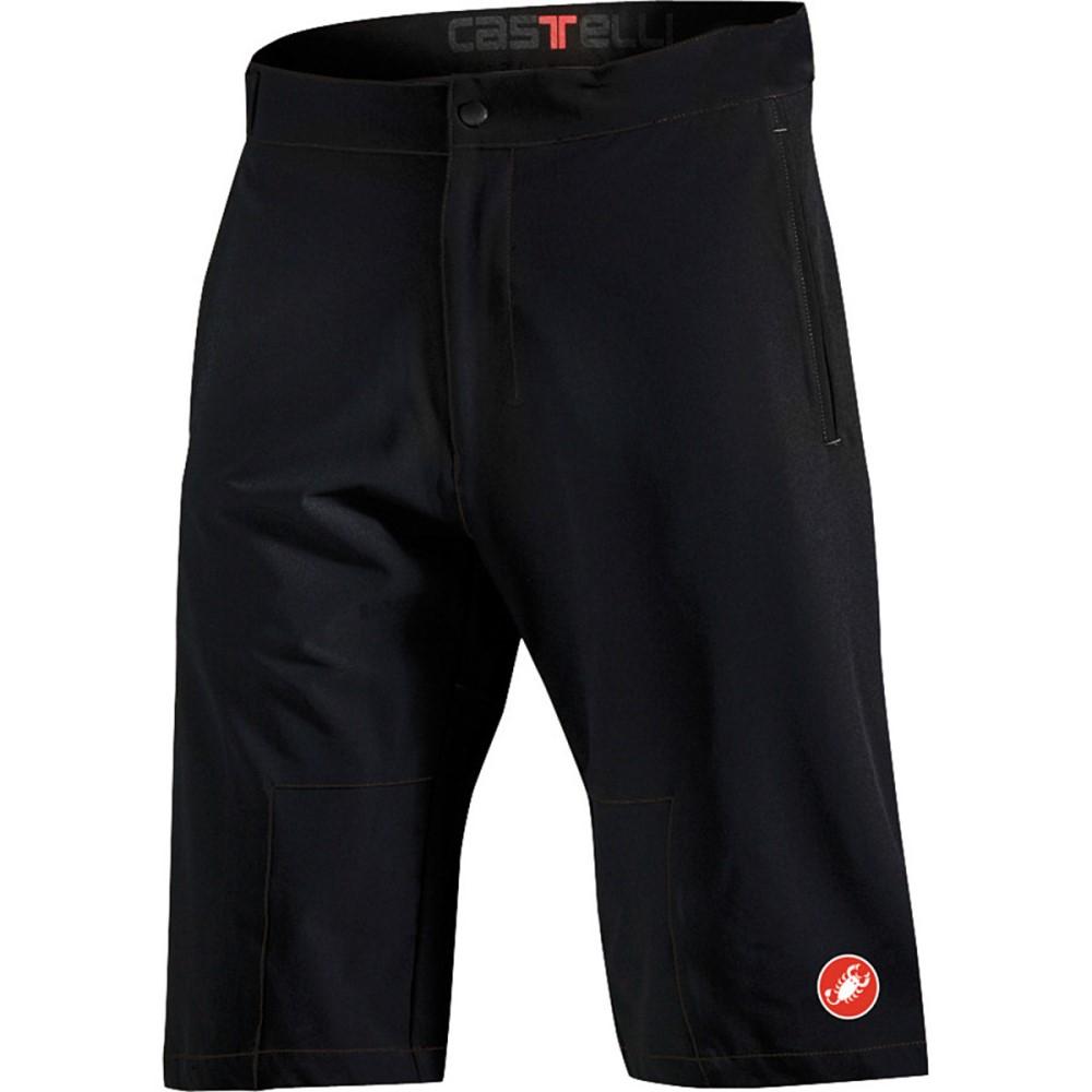 カステリ メンズ 自転車 ボトムス・パンツ【Libero Shorts】Black