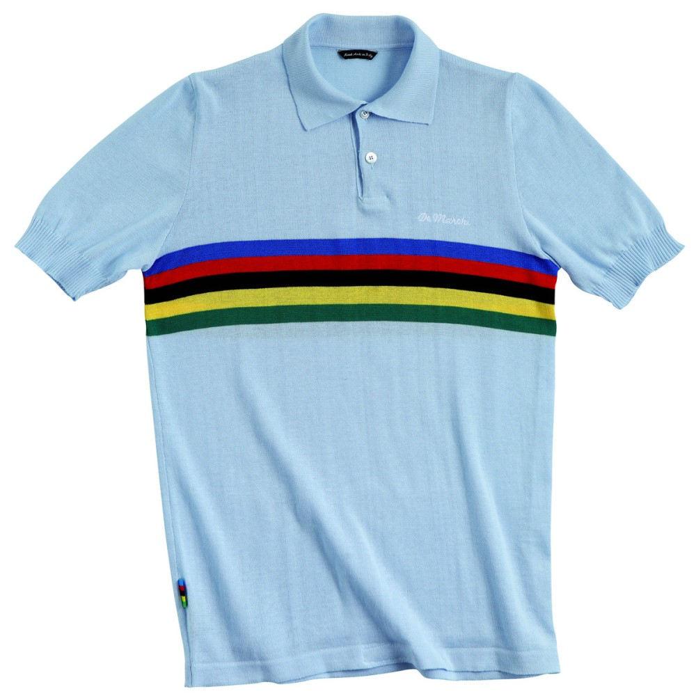 デマルキ メンズ 自転車 トップス【Campione Polos】Sky