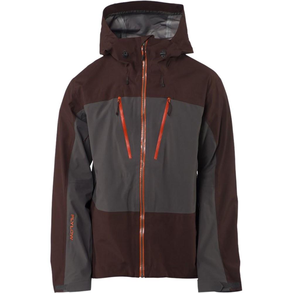 フライロウギア メンズ スキー・スノーボード アウター【Lab Coats】Granite/Cola
