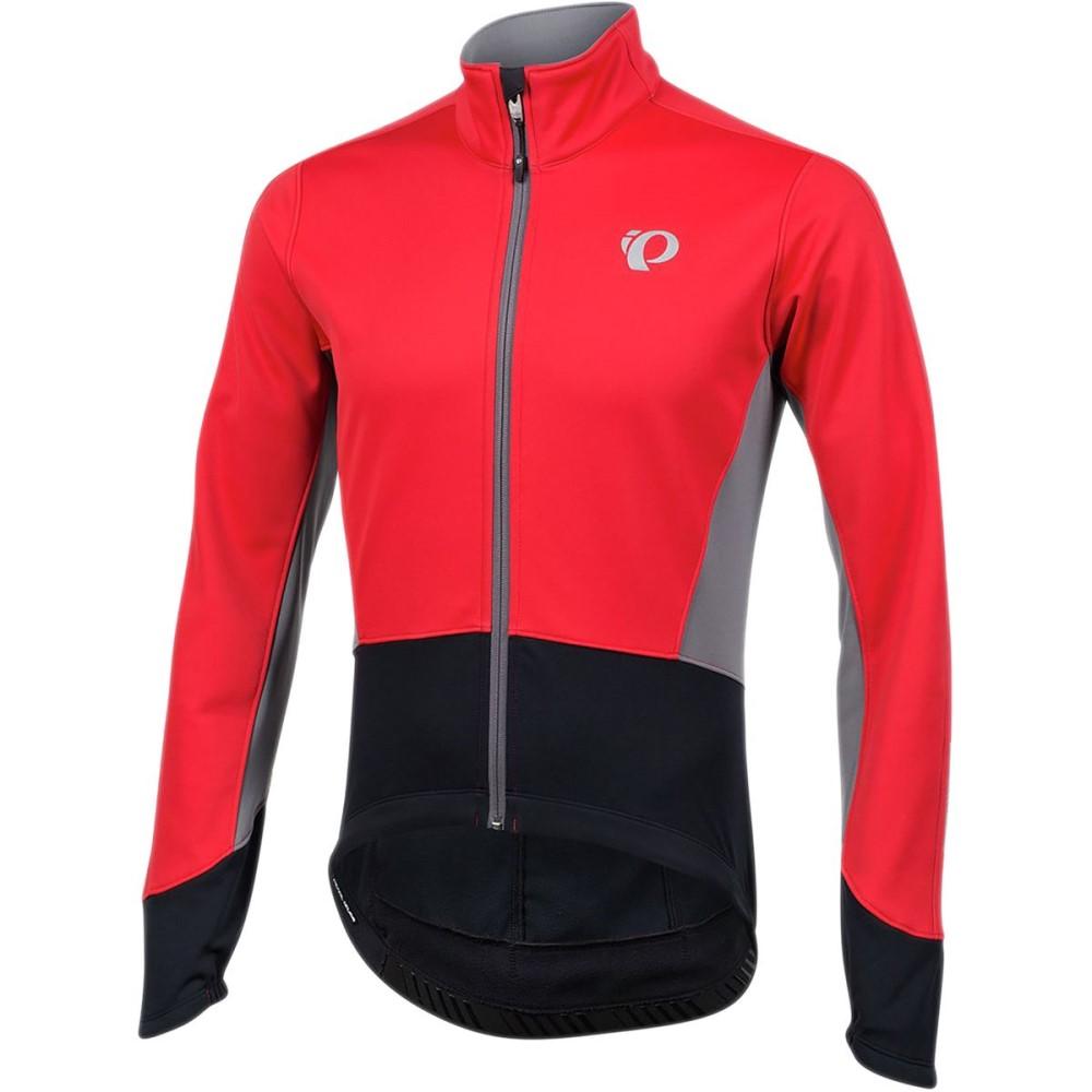 パールイズミ メンズ 自転車 アウター【ELITE Pursuit Softshell Jackets】True Red/Black