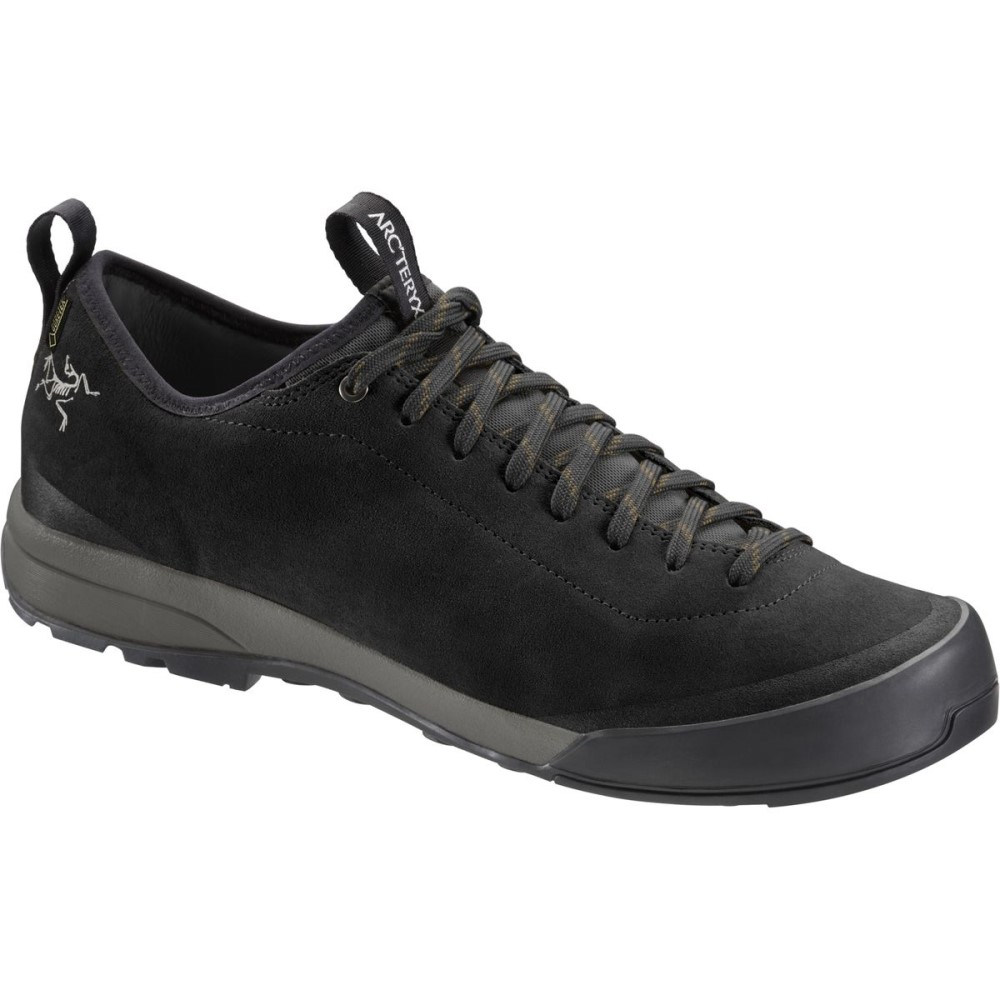 アークテリクス メンズ ハイキング・登山 シューズ・靴【Acrux SL Leather GTX Approach Shoes】Black/Shark