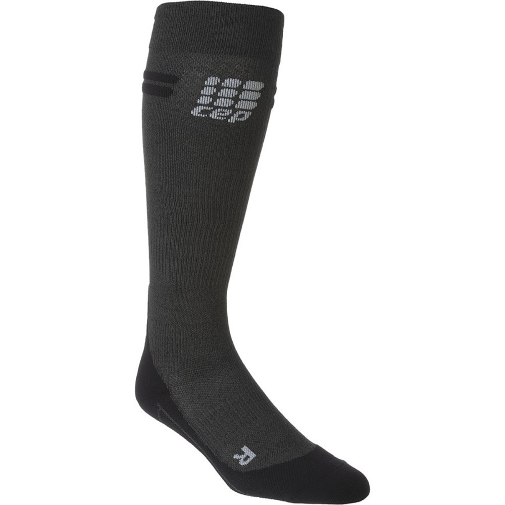 シー イー ピー レディース 自転車【Progressive Plus Run Merino Socks】Anthracite /Black