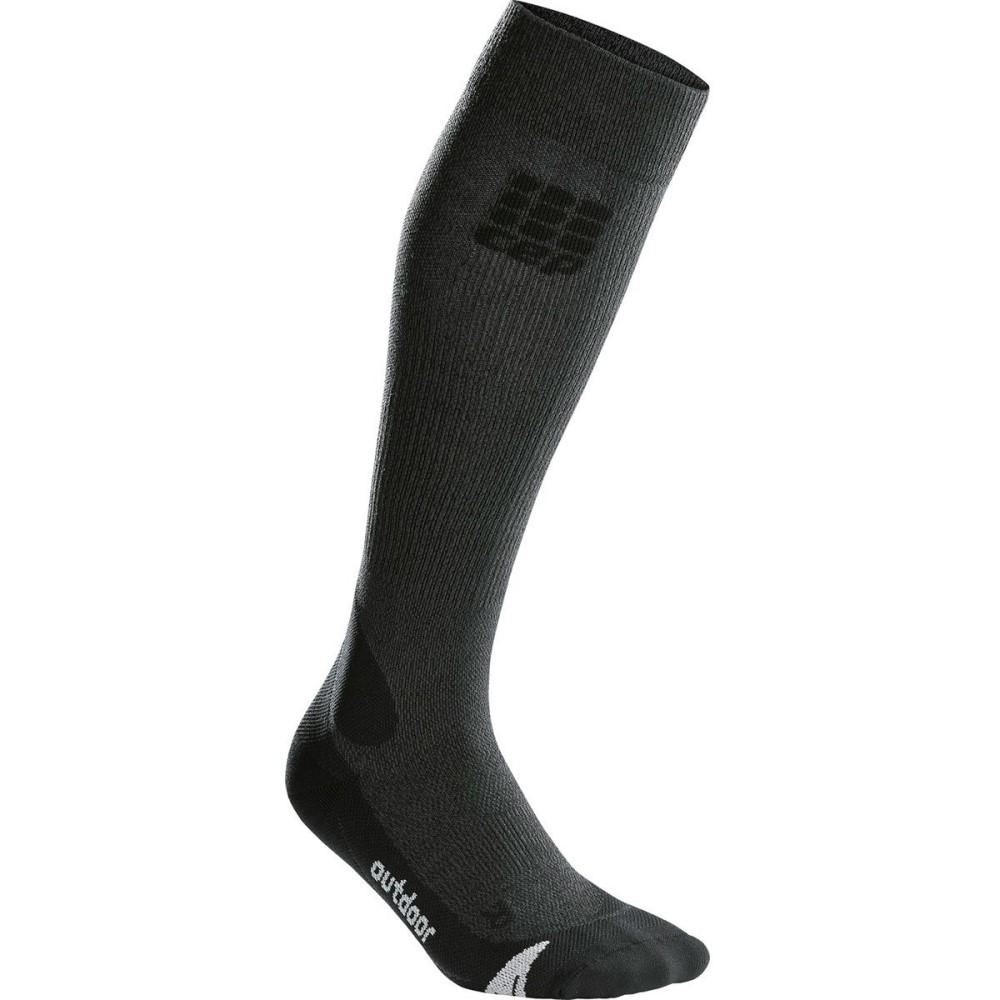 シー イー ピー レディース 自転車【Progressive Plus Outdoor Merino Socks】Grey/Black