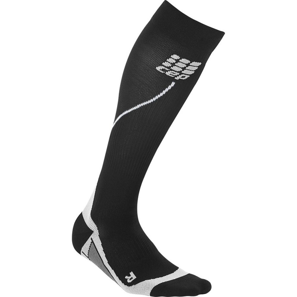 シー イー ピー レディース インナー・下着 ソックス【Progressive Run 2.0 Compression Sock】Black/Grey