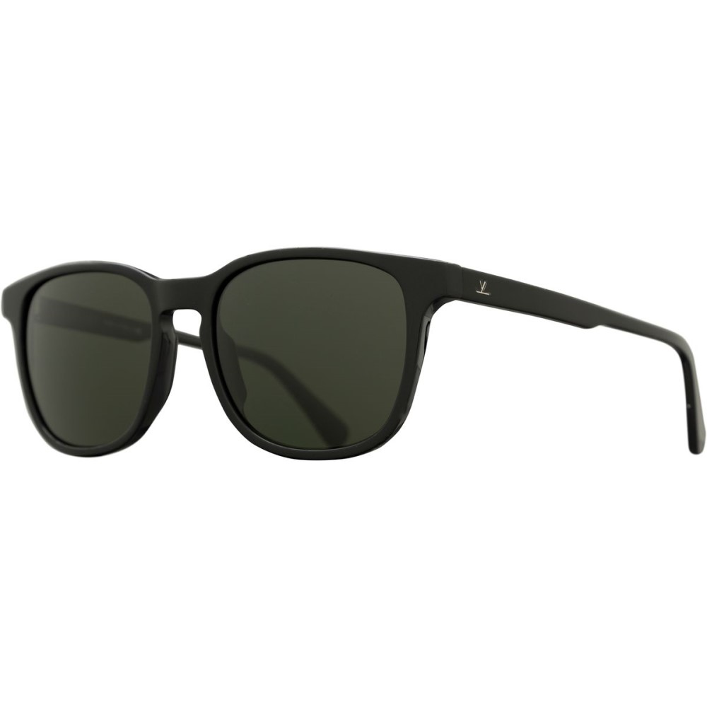 ヴュアルネ メンズ メガネ・サングラス【Square District VL 1618 Sunglasses】Shiny Black/Pure Grey