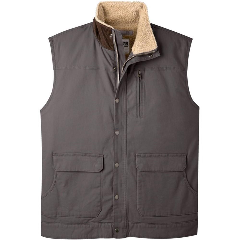 マウンテンカーキス メンズ トップス ベスト・ジレ【Ranch Shearling Vests】Slate